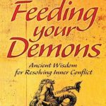 book cover, Feeding Your Demons